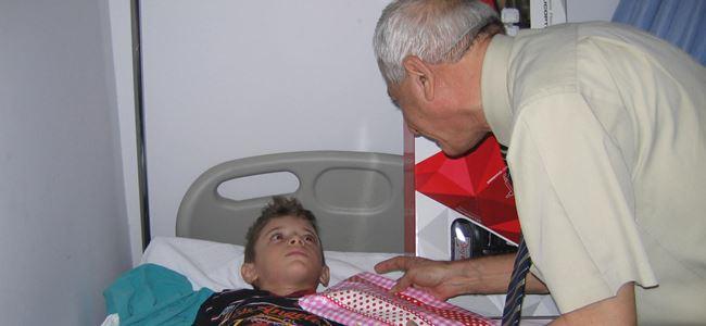 Sosyal yardım alan ailelerin çocukları sünnet ettiriliyor