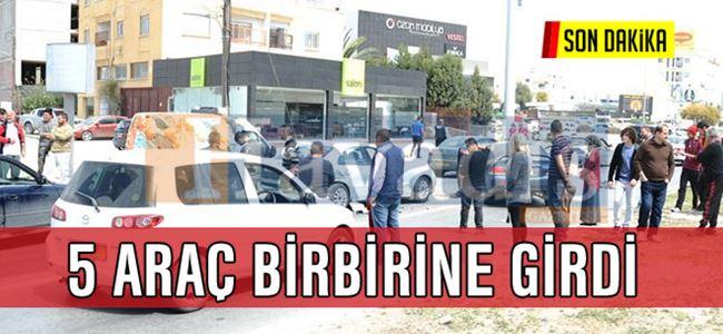 Hamitköy'de Korkunç Kaza