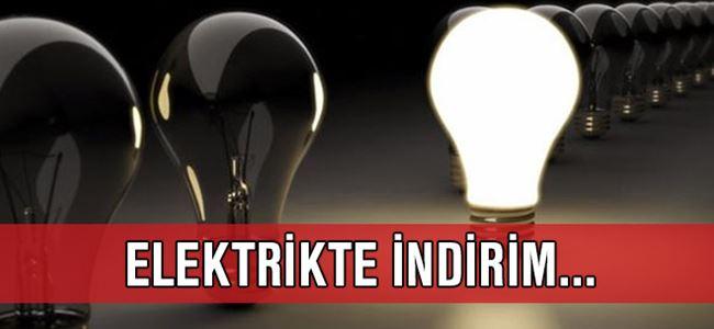 Elektrikte İNDİRİM