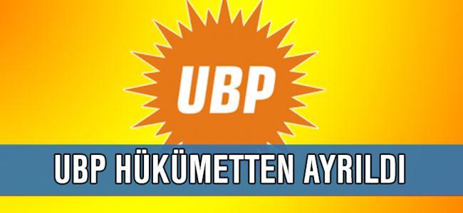 UBP PM Toplantısından istifa kararı çıktı