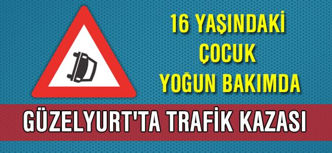 Güzelyurt'ta Trafik Kazası