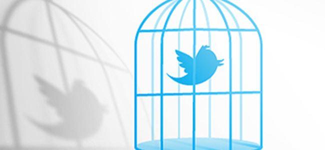 Twitter kafese girmiyor