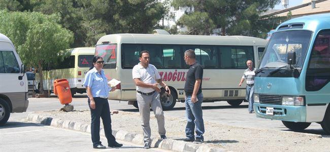 Otobüs şoförleri dert küpü