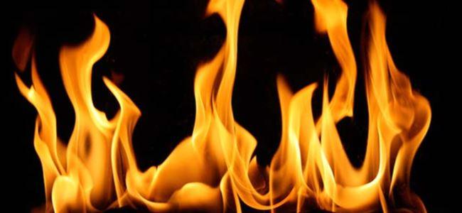 Başkentte Yangın Çıktı!
