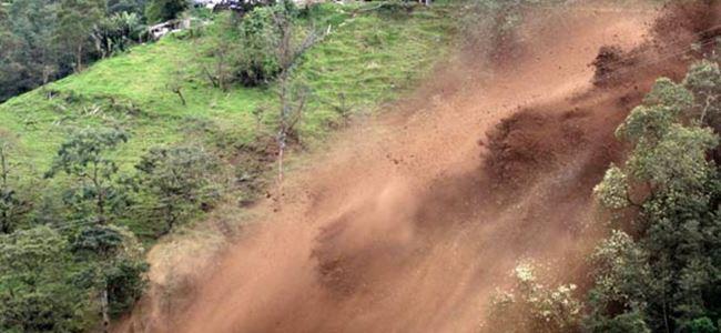 Çin'de toprak kayması: 8 ölü