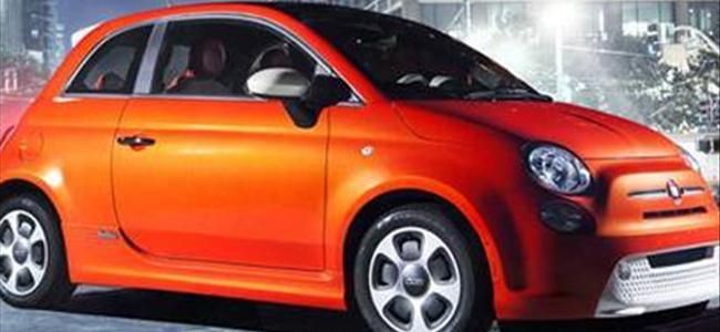 Fiat 500e elektrikli aracını tanıttı