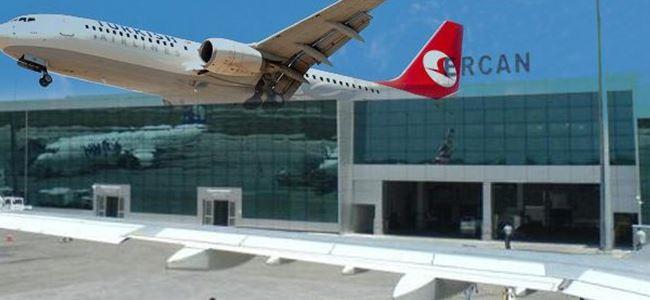 Ercan'da akıl almaz olay: Pilot bayıldı