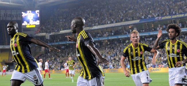 Fenerbahçe'ye 45 dakikalık şov yetti: 3-1