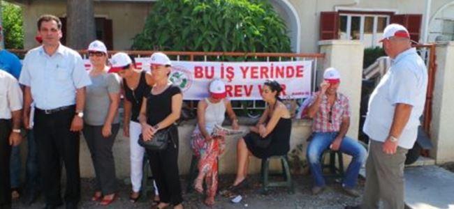 Türk Ajansı Kıbrıs'ta grev!