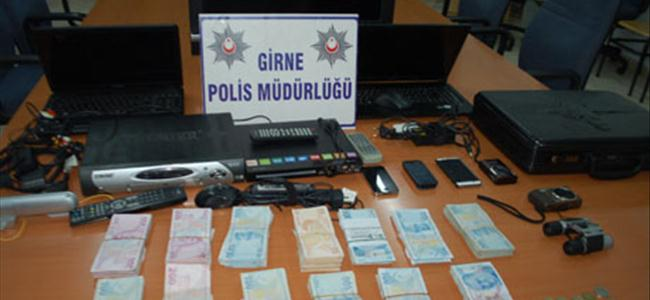 Girne polisi hırsızların ensesinde
