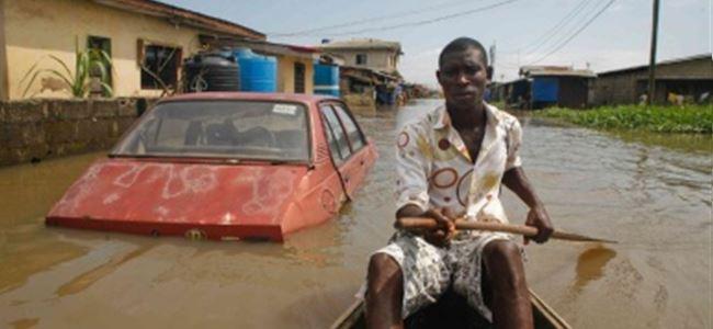 Nijerya'da sel  felaketi!
