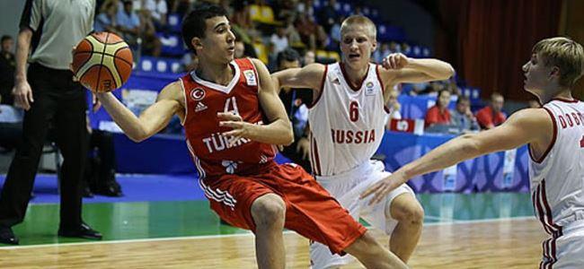 Erten'li Türkiye, Rusya'yı devirdi: 76-57