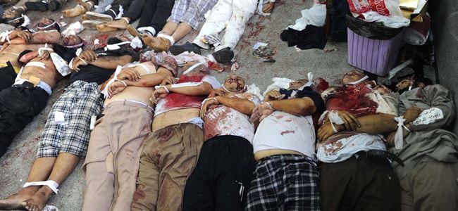 Bin kişi öldü, On Bin'i aşkın yaralı