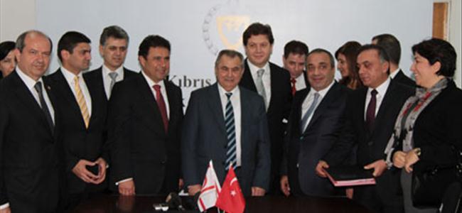 Ercan için son imzalar atıldı