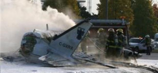 Kanada'da Deniz Uçağı Düştü:2 Ölü