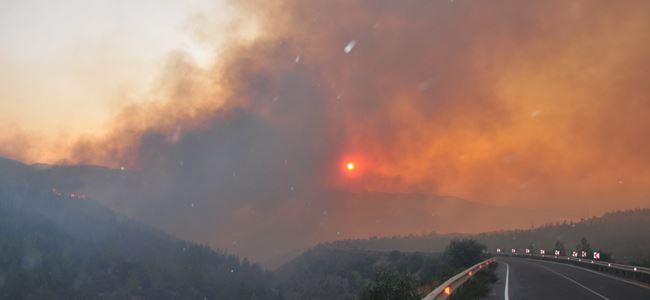 Yangın Kuzeye de sıçradı!