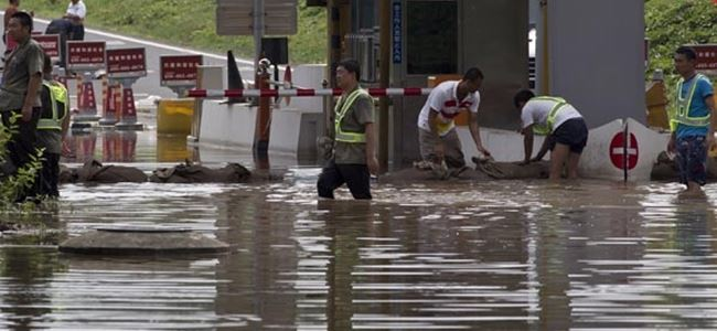 Çin'i seller vurdu: 91 ölü, 111 kayıp