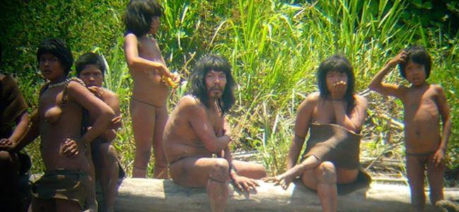 Mashco-Piro adlı kızılderili kabilesi görüntülendi