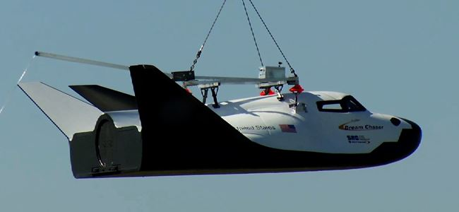 Dream Chaser, Deneme Uçuşunda Başarılı Oldu