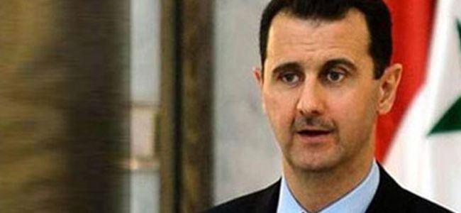 Esad, kimyasal silah iddialarını reddetti