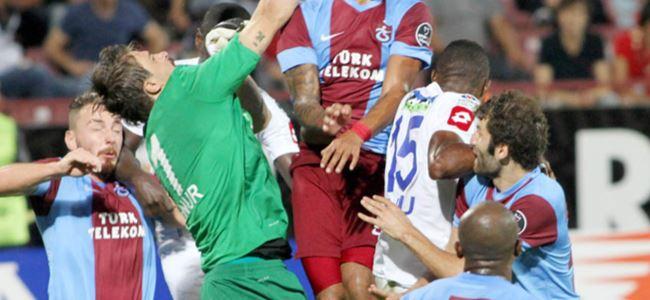Karadeniz derbisi Trabzonspor'un: 2-1