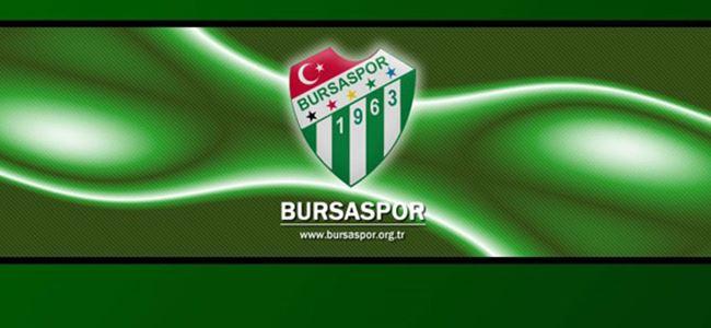 Bursaspor harekete geçiyor!