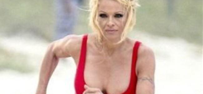 Pamela Anderson Haiti için koşacak