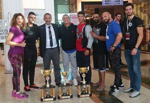 Vücut türkiye şampiyonu