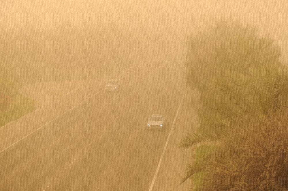 tozlu hava durumu