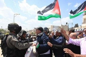 Kudüs'te Filistinlilere müdahale
