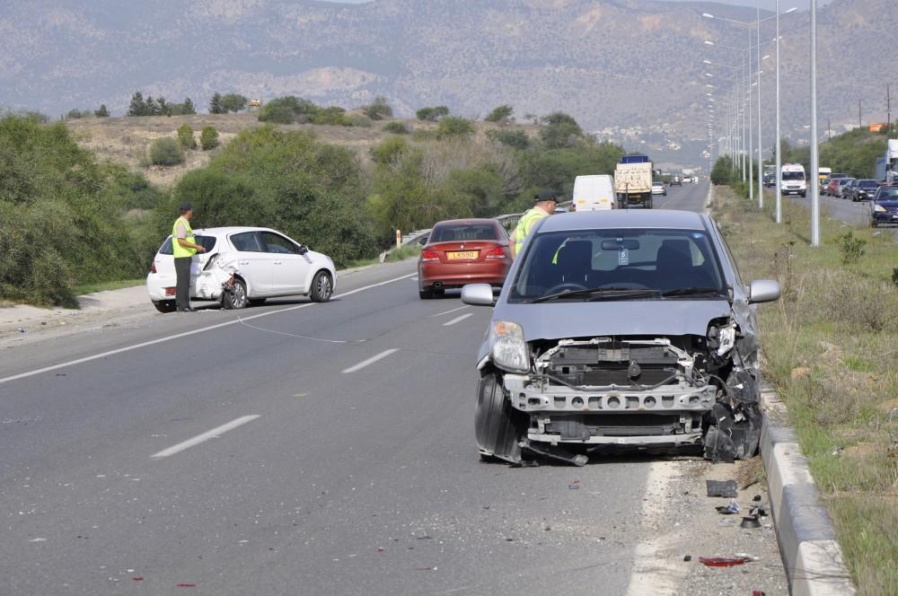 Son bir haftada 59 kazada 11 yaralı