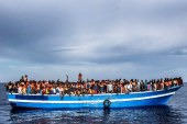 Baf'a 27 kaçak mülteci