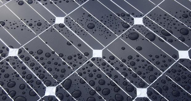 yağmur güneş paneli