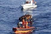 Baf açıklarında, 91 göçmen kurtarıldı