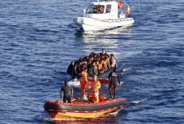 Koruçam açıklarında bir teknede 19 kaçak göçmen tesbit edildi