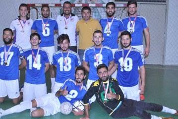 Futsalda şampiyon DAÜ ve LAÜ