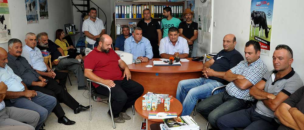 Photo of Lefkoşa'ya süt uyarısı sorunu çözdü
