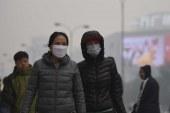 Çin'de Hava Kirliliği Alarmı…