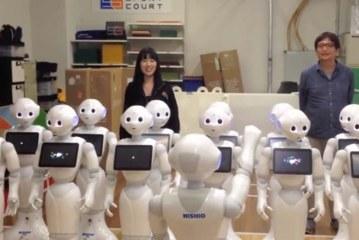 Robotlardan Beethoven'ın 9. senfonisi