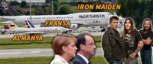 Photo of Merkel ve Hollande, Iron Maiden'ın yanında cüce kaldı