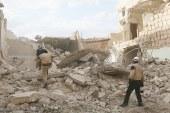Rakka'ya misket bombasıyla saldırı