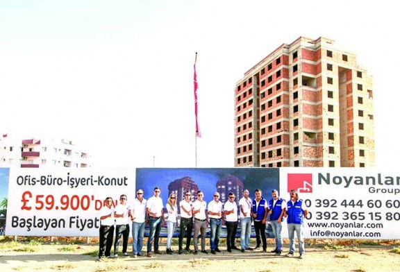Gazimağusa'ya dev yatırım Angel Towers