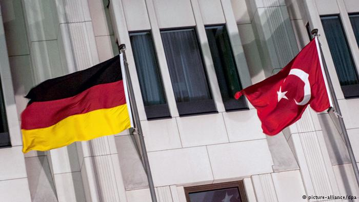 almanya türkiye bayrak
