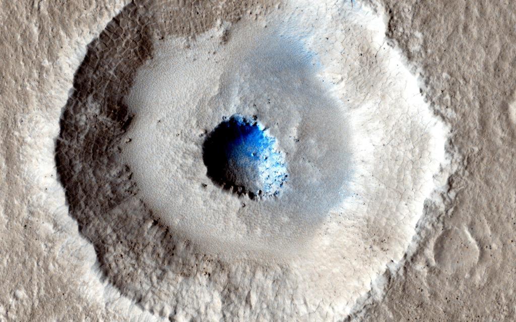Photo of Mars'ta ABD'nin en büyük gölü büyüklüğünde buz kütlesi bulundu