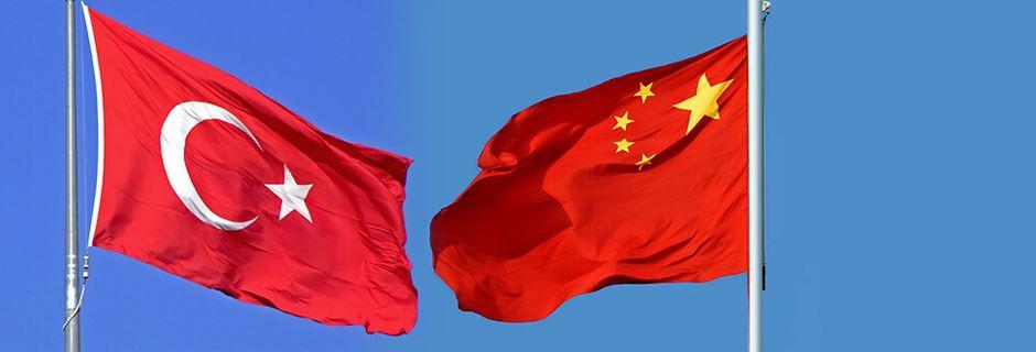Türkiye, Çin bayrak