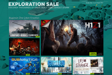 Steam 'Black Friday' indirimi başladı