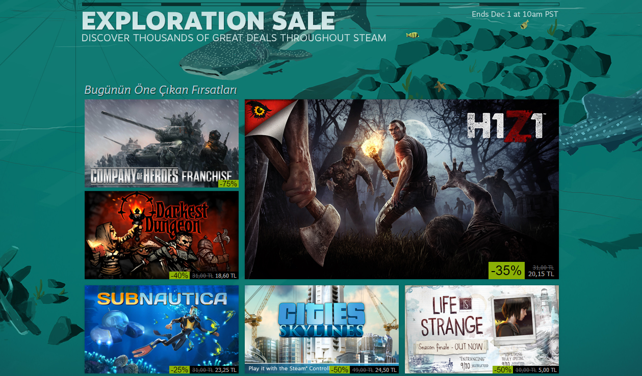 Photo of Steam 'Black Friday' indirimi başladı