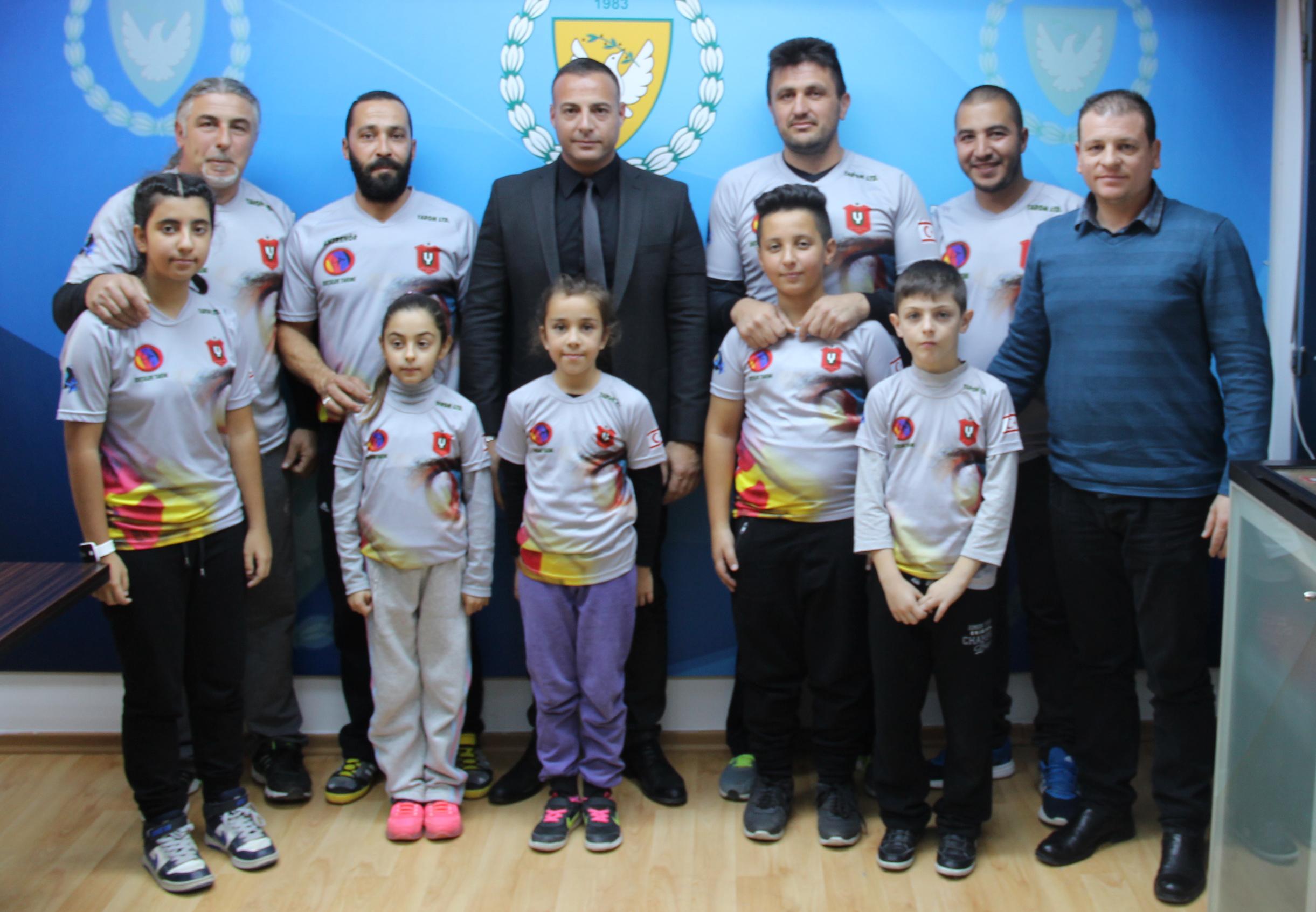 Photo of Cahitoğlu BÜY Okçularını kabul etti