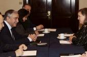 Cumhurbaşkanı Akıncı, Nuland'ı kabul etti