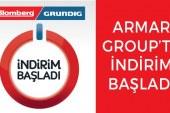 Armar Group, Blomberg ve Grundig'de indirim başlattı